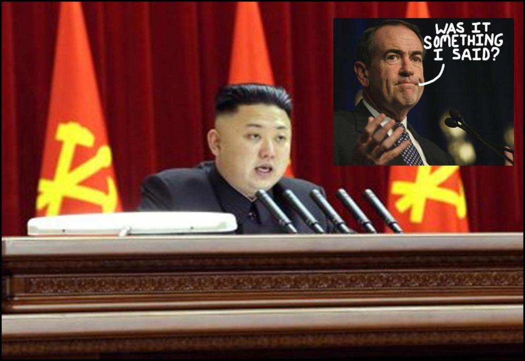 Mike Huckabee Loves North Korea, Still Hates Gays