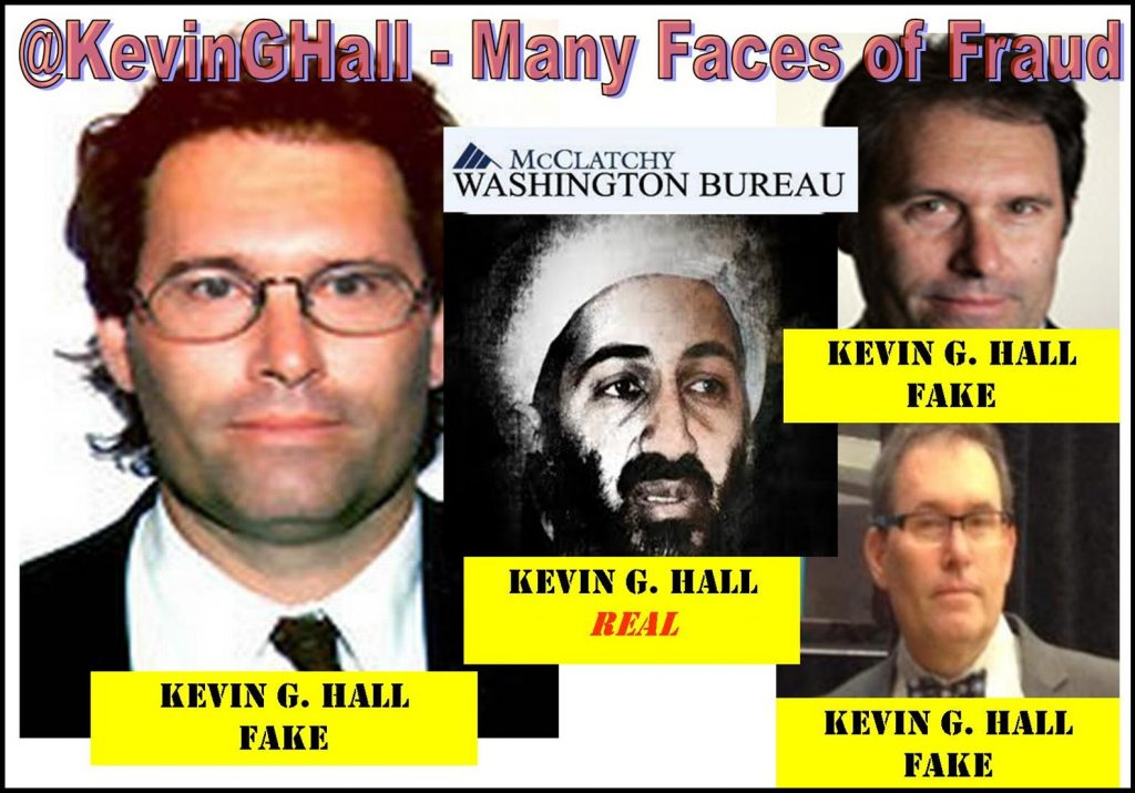 KEVIN G HALL, MCCLATCHYDC REPORTER, A RACIST WRITER IMPLICATED IN MULTIPLE FRAUD