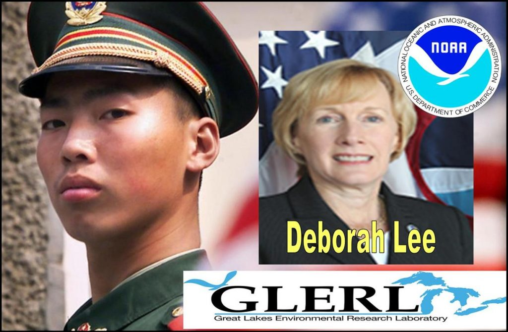 Deborah H. Lee, NOAA GLERL Director Implicated in Chinese Spy Charges, Sherry Chen Lawsuit