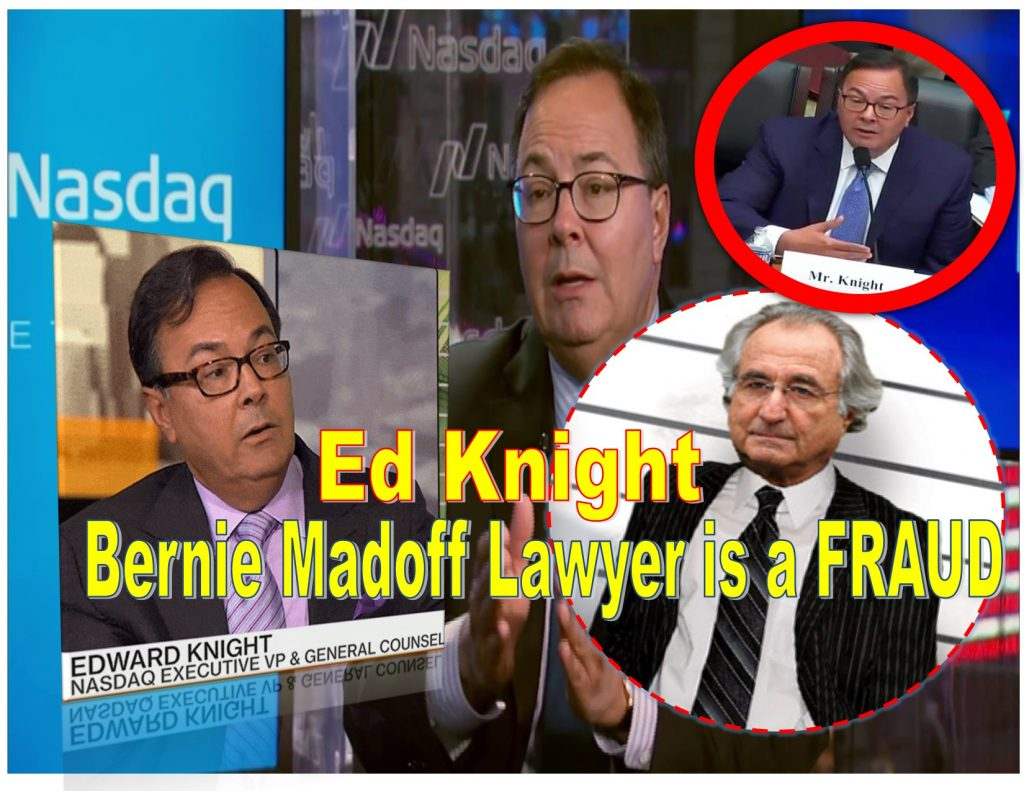 ED KNIGHT, NASDAQ, ADENA FRIEDMAN, AMY KNIGHT, TRAVIS KNIGHT, MICHAEL SPLINTER, ARNOLD GOLUB, BERNIE MADOFF, NELSON GRIGGS, DAVID DONOHOE JR, LAWSUIT, PONZI SCHEME, FRAUD