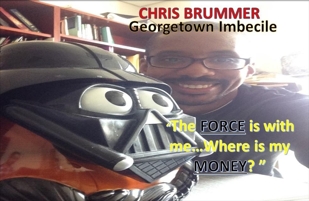 CHRIS BRUMMER, GEORGETOWN UNIVERSITY PROFESSOR, FINRA NAC RUBBER STAMP