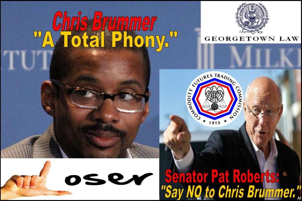 Senate Rejects Georgetown Professor Chris Brummer CFTC Nomination, Dr. Bratwurst Burned in Fraud Claims