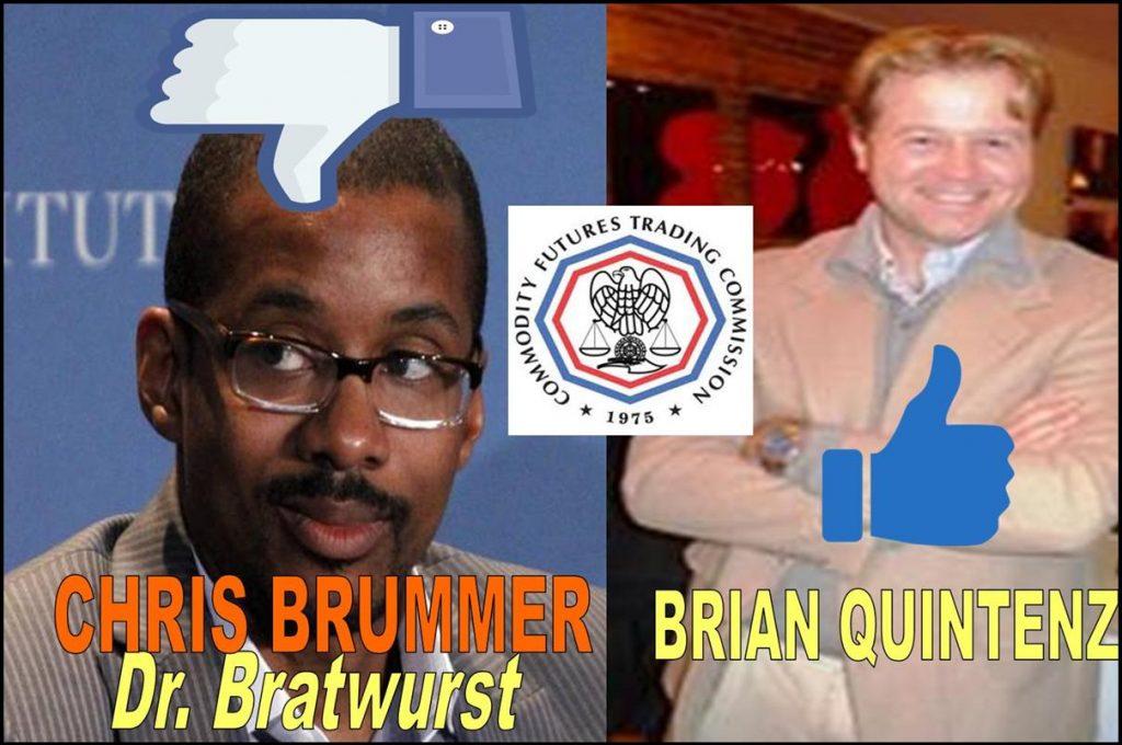 CHRIS BRUMMER, BRIAN QUINTENZ, CFTC NOMINEES, SENATE AGRICULTURE COMMITTEE HEARING