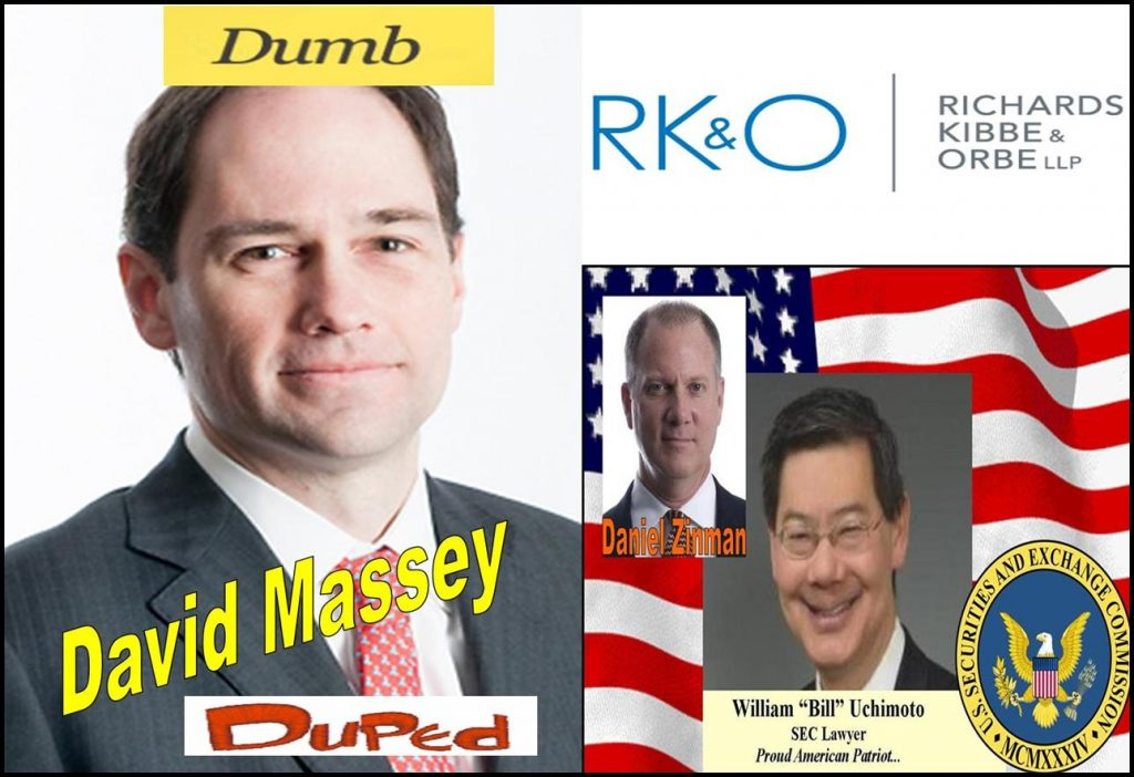 DAVID MASSEY, TRACY TIMBERS, FORMER AUSA, RICHARDS KIBBE & ORBE LLP LAWYER IMPLICATED IN FBI AGENT MATT KOMAR FRAUD