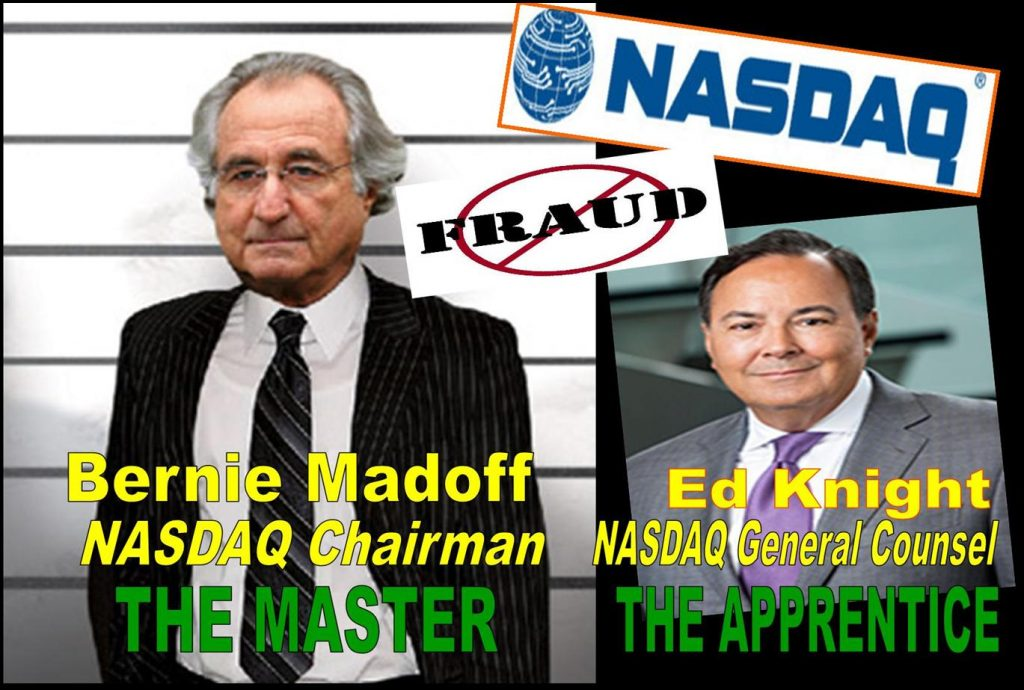 ED KNIGHT, WILLIAM SLATTERY, AMY HORTON, ALAN ROWLAND, BERNIE MADOFF, ANDREW HALL, Michael Emen, Craig Miller, NASDAQ, DELISTING, CLEANTECH INNOVATIONS, DAVID DONOHOE, DONOHOE ADVISORY