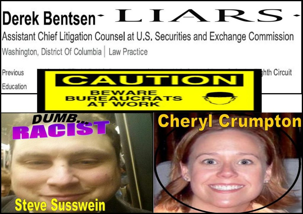 MELISSA HODGMAN, WILLIAM UCHIMOTO, Steven Susswein, Cheryl Crumpton, DEREK BENTSEN, SEC Enforcement, Fraud