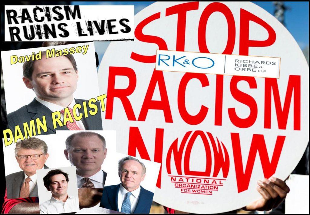 DAVID MASSEY, RICHARDS KIBBE ORBE, Daniel Zinman, Bill Orbe, Jon Kibbe, Melissa Hodgman, SEC enforcement, Derek Bentsen, Robert Colby, FINRA, Tracy Timbers, racism