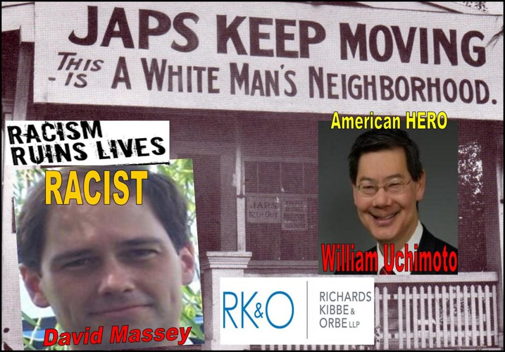 DAVID MASSEY, RICHARDS KIBBE ORBE, Tracy Timbers, William Uchimoto, RKO, Lee Richards, Daniel Zinman, Bill Orbe, Jon Kibbe, racist fraud