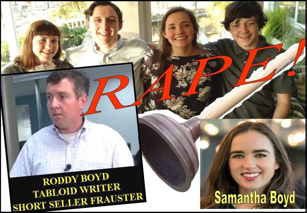 SAMANTHA BOYD, LAURA BOYD, RODDY BOYD, SIRF, DUNE LAWRENCE, KINGSFORD CAPITAL, SOUTHERN INVESTIGATIVE REPORTING