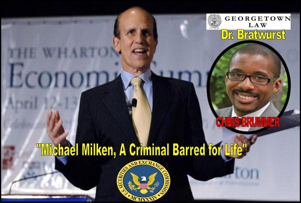 Georgetown Law Center, Professor Chris Brummer, Milken Institute, CFTC Nominee, criminal Michael Milken, Rachel Loko, Georgetown Univeristy fraud.jpg