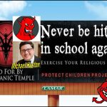 Michael Huston, Gibson Dunn Lawyer Says Texas Satanic Temple Scares School Bullies with Billboards from Hell