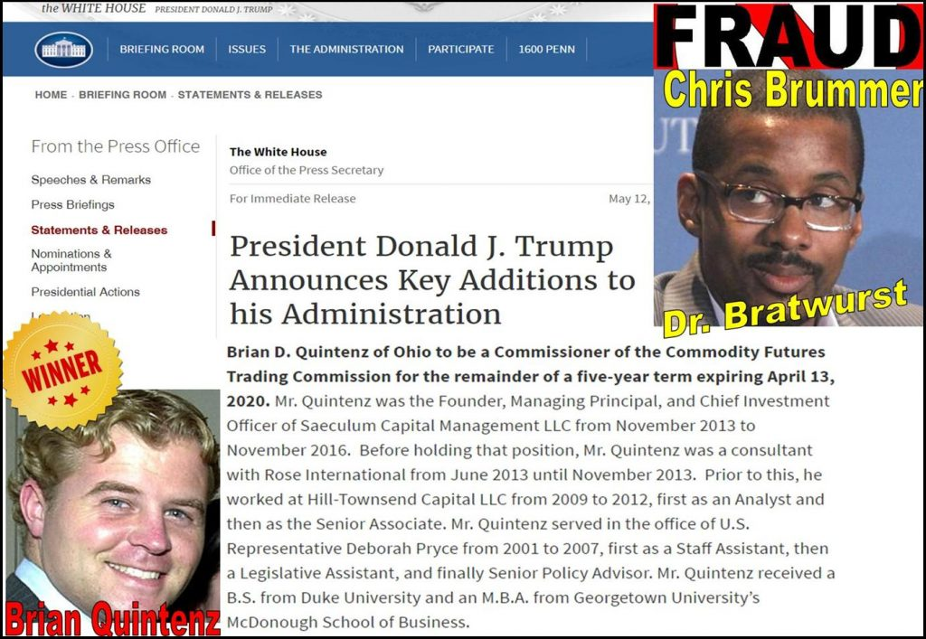 BREAKING, Chris Brummer, Phony Georgetown Law Center Professor Got Caught Defrauding the Government