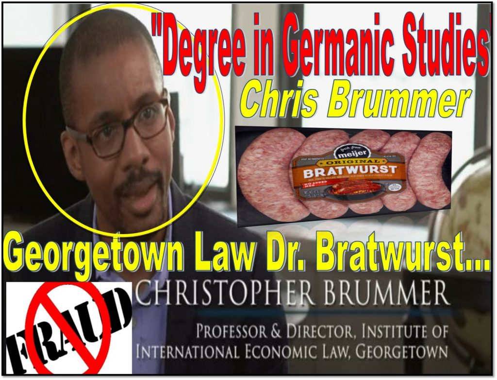 Germanic Studies, Chris Brummer, Georgetown Law Center, Rachel Loko, SEC, Chauncey Brummer, Charles Senatore, FINRA NAC, Alan Lawhead, Robert Colby, Richard Ketchum, Daren Garcia, Fraud