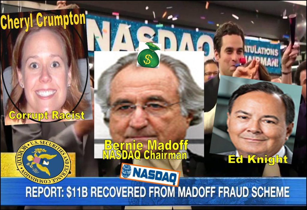 Corruption, Lies, How SEC Enforcement Staff Cheryl Crumpton, Derek Bentsen Drink Nasdaq 'Poison Kool-Aid'