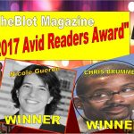 Nicole Gueron, Chris Brummer Won the 2017 TheBlot Magazine Avid Readers Award