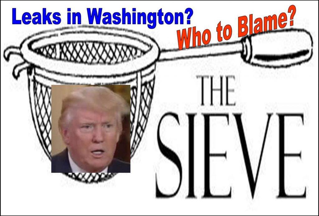 Washington Insiders Leak, Leak and Leak, Who Do You Really Blame
