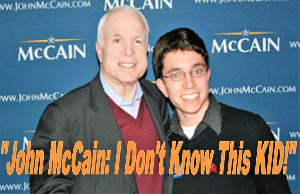 BREAKING Ian Lubetkin, Fake John McCain Adviser Dupes DC Lobbyists