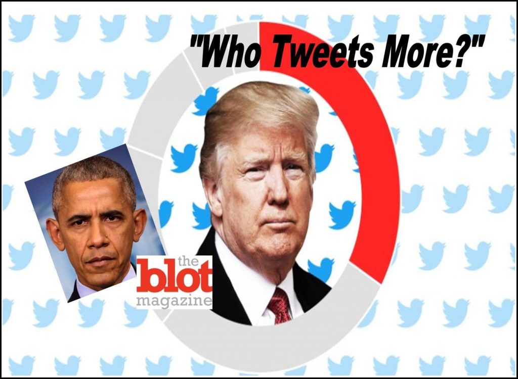 BREAKING Trump Actually Tweets Less than Obama After Inauguration, Fake News Got Caught