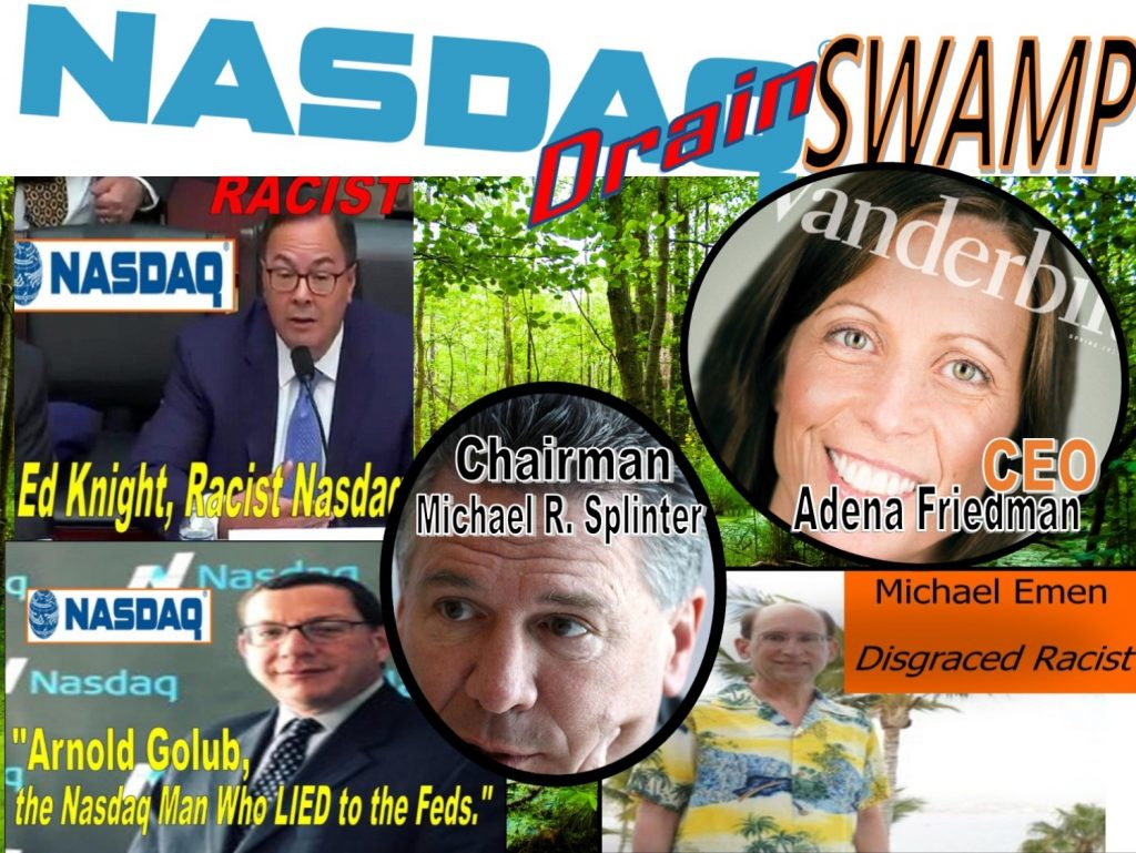 ADENA FRIEDMAN, MICHAEL R. SPLINTER, ED KNIGHT, MELISSA M ARNOLDI, JOHN RAINEY JR, ALAN ROWLAND, MICHAEL EMEN, WILLIAM SLATTERY, BRUCE AUST, NASDAQ STOCK MARKET