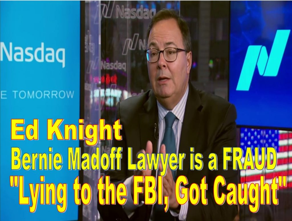 Ed Knight, NASDAQ General Counsel, Arnold Golub, Michael Emen, Alan Rowland, William Slattery, Aden Friedman, Michael Splinter, Amy Knight, Nelson Griggs, FBI lies