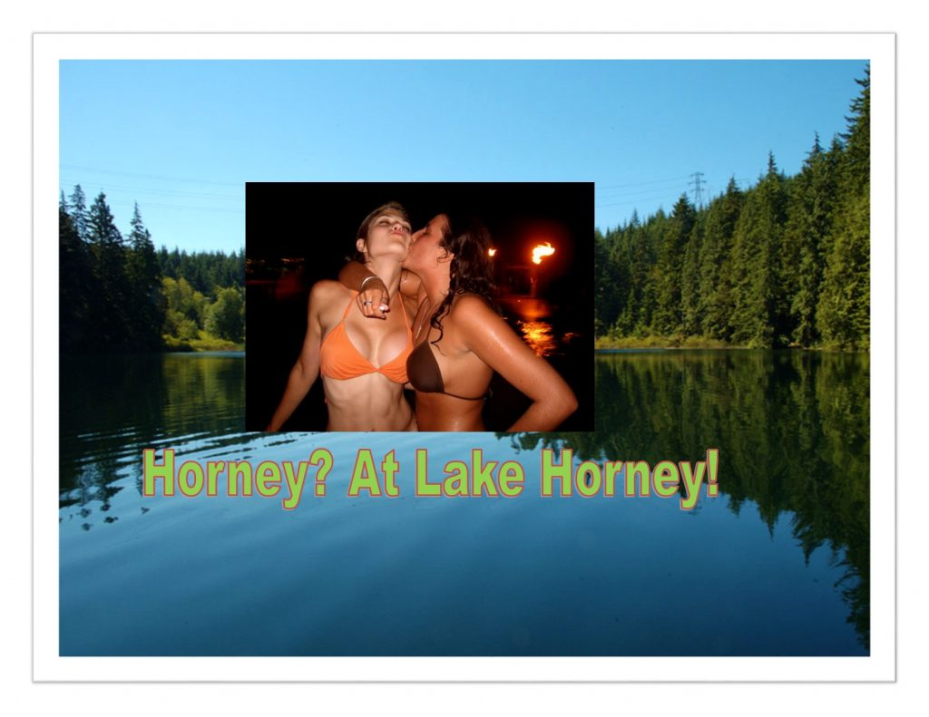 Horney Lakeside Resident Wants to Lose the Horney