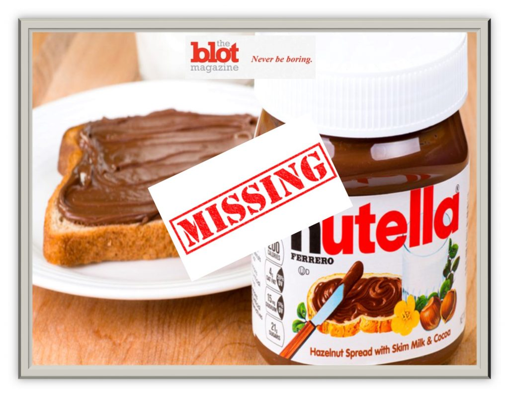 Police Hunt 20 Tons of Missing Nutella, Chocolate