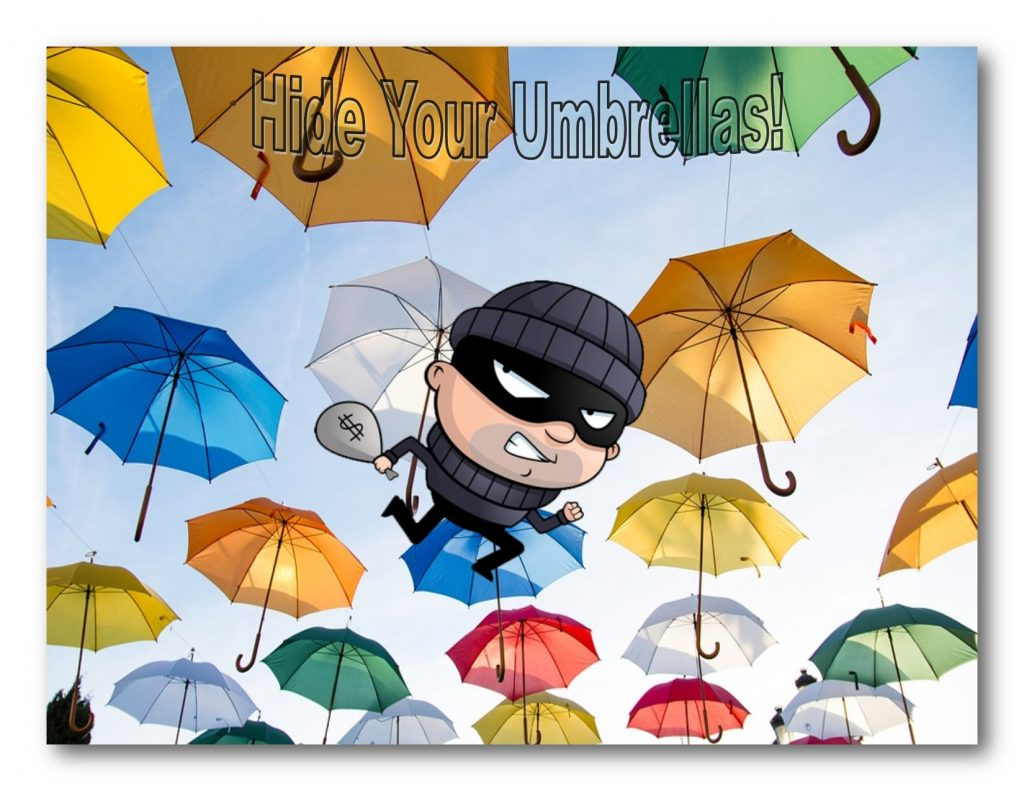 Umbrella-sharing Startup Loses 300k Umbrellas in 90 Days