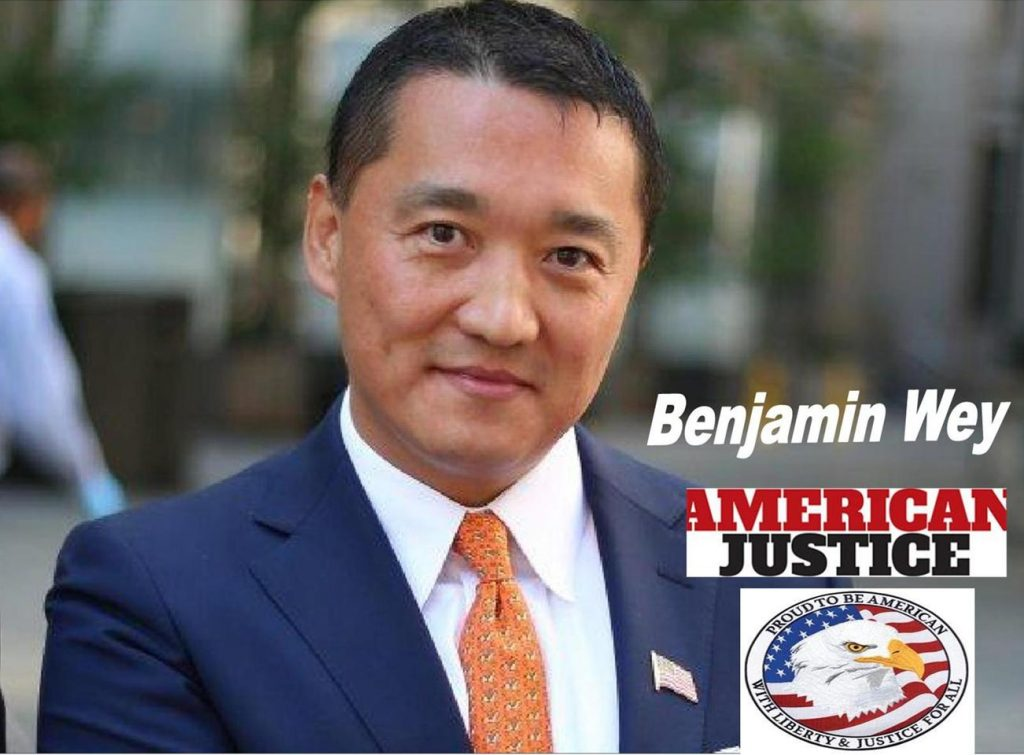 VINDICATED AMERICAN FINANCIER BENJAMIN WEY HIRES PLAINTIFFS LAWYERS, SEEKS DAMAGES, JUSTICE