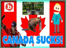 Canadian Idiots Unveil First Joint Civil War Monument