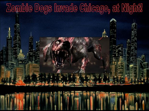 Chicago Police Warn Zombie Dogs are Infected Coyotes