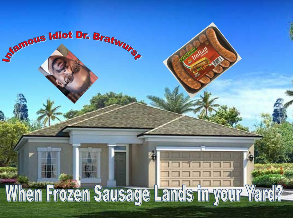 Family Awoken by Thunderous Crash of 15 Pounds of Frozen Meat