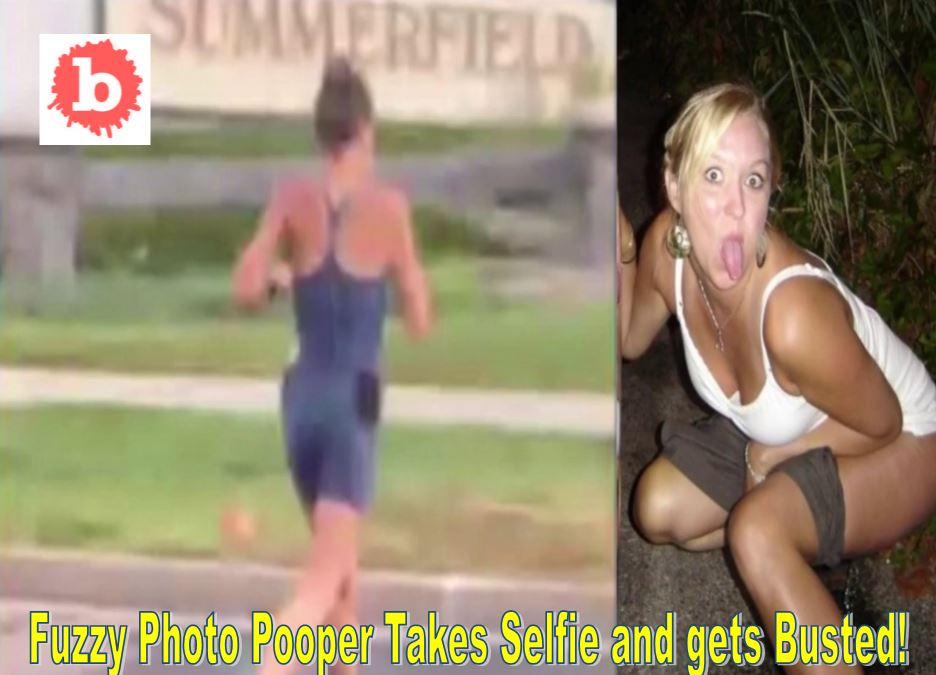 Mad Pooper Jogger Squats on Family's Lawn, Kids Horrified