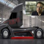 Truck Maker Cummings Announces E-Truck, Tesla Eating Marketing Fume
