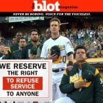 Baseball's Bruce Maxwell Refused Service After Kneeling for Anthem