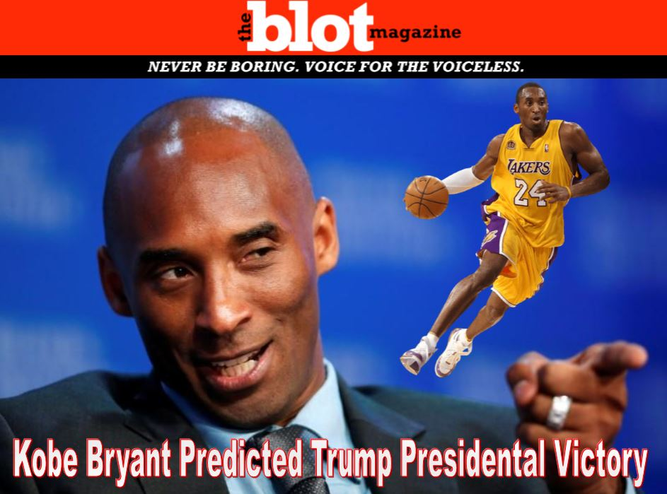 Black Mamba aka Kobe Bryant Predicted Trump Win
