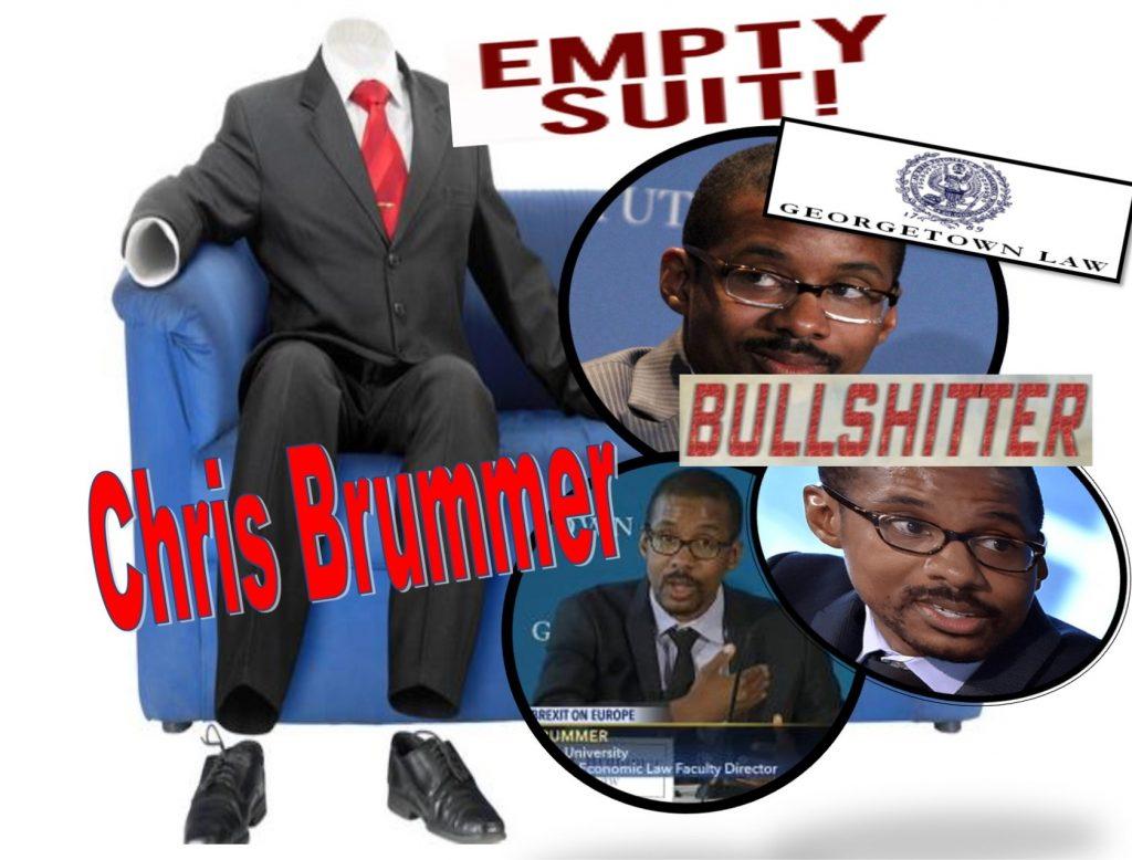 Fraud, Lies, Georgetown Law 'Professor' Chris Brummer, Rigged FINRA NAC Sued for Fraud, Defamation