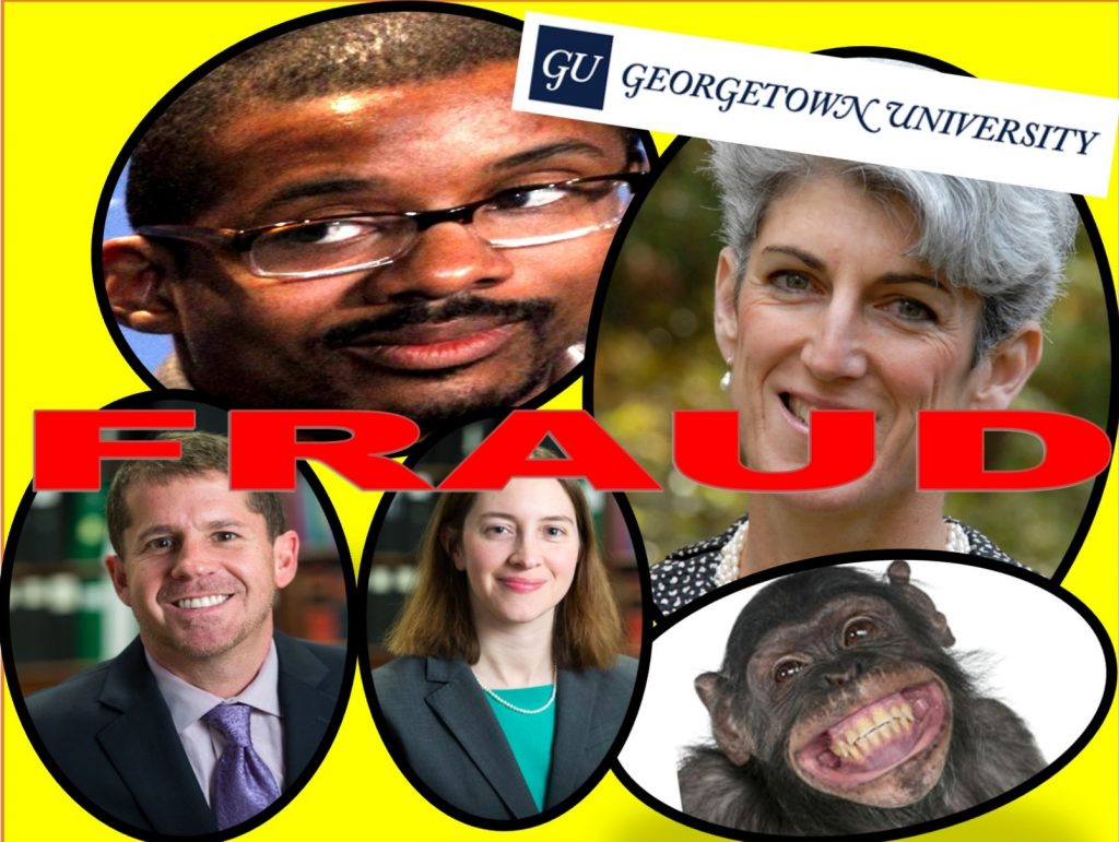 Georgetown University, general counsel, Chris Brummer, Lisa Brown, Kelly Blevins, Elizabeth Decherd, Paul Greco, Georgetown Law Center, fraud, sued, Rachel loko