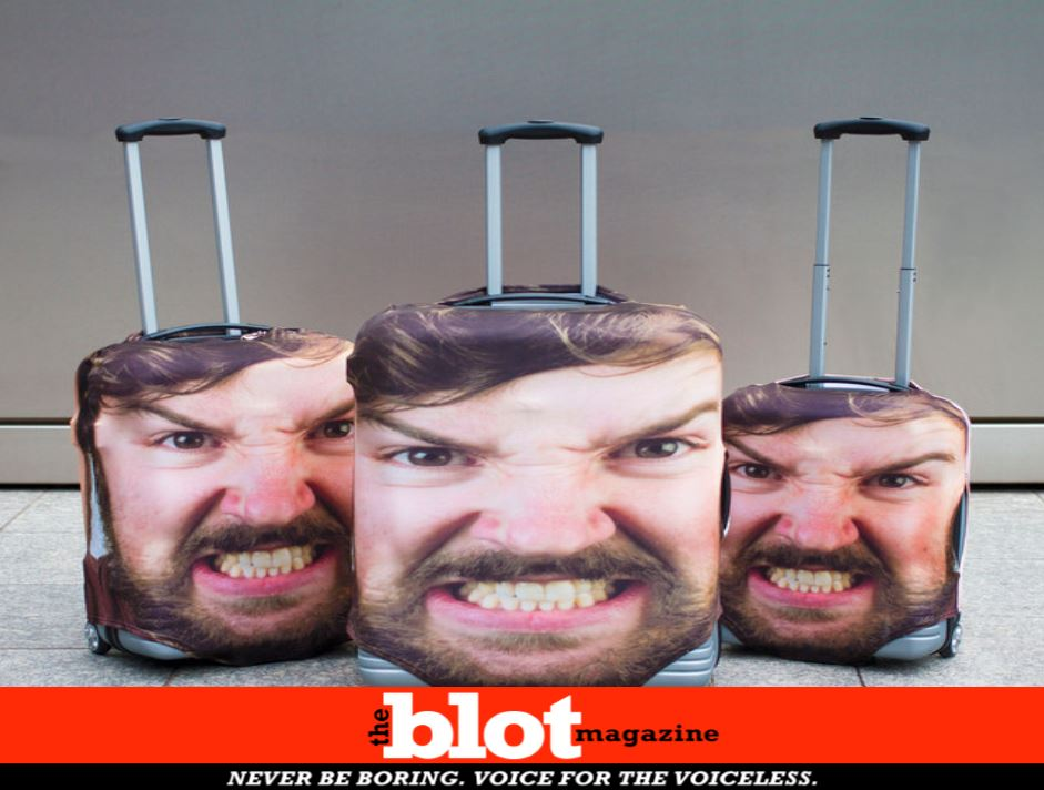 Horrifying Selfie Luggage May be Practical Thief Deterrent