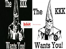 KKK Aims to Recruit New Members at High Schools
