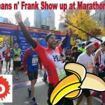 Marathon Man Shows Franks and Beans At Finish Line