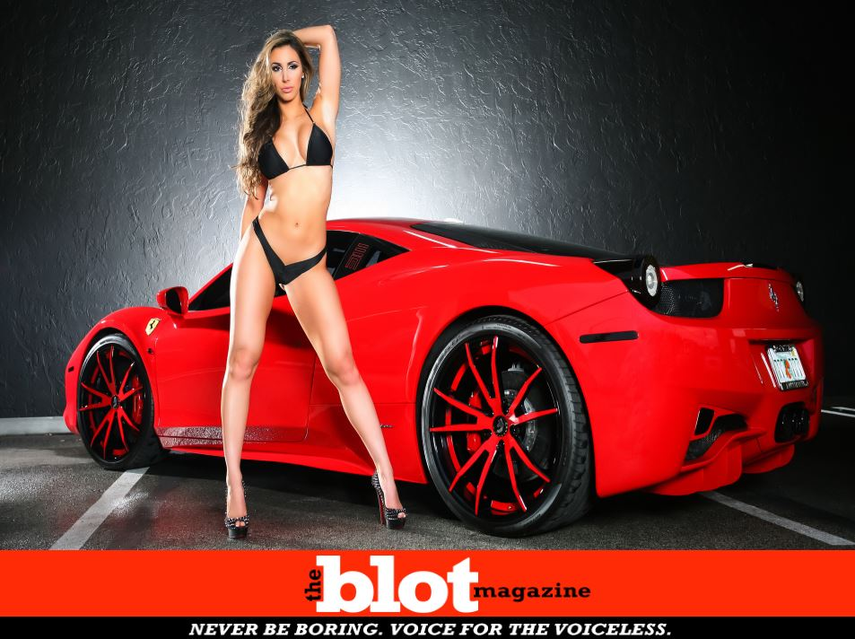 Cocaine High Model Wrecks Ferrari, Attempts Flight on Hubby's Private Jet