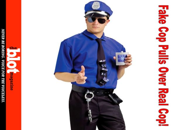 Fake Cop Pulls Over Real Cop, Lowering Average IQ in Kentucky