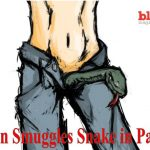 German Police Detain Man with Massive Snake in His Pants