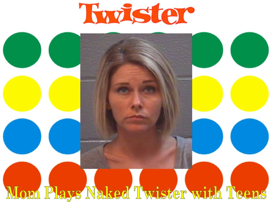 Mom Plays Naked Twister With Teens, Bangs Daughter's Boyfriend