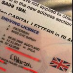 """UK Prints Girl's Drivers License With """"My Dad's House"""" as Address"""