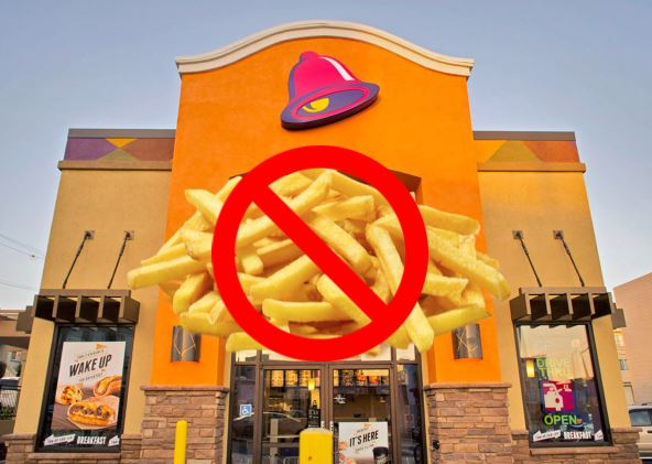 Woman Claims Taco Bell Staff Racist for Not Having French Fries