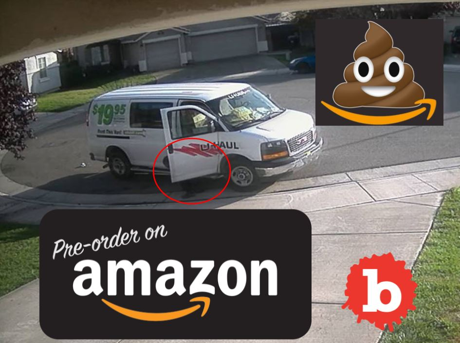 Amazon Driver Busted on Video Pooping on Private Driveway