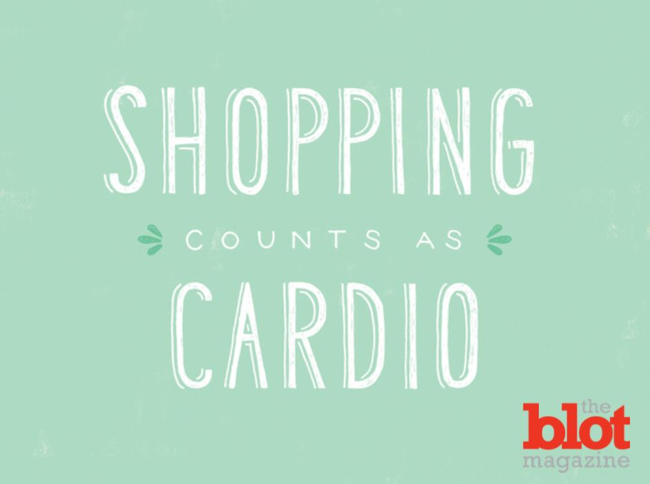 Burn Calories On Your Holiday Shopping Workout