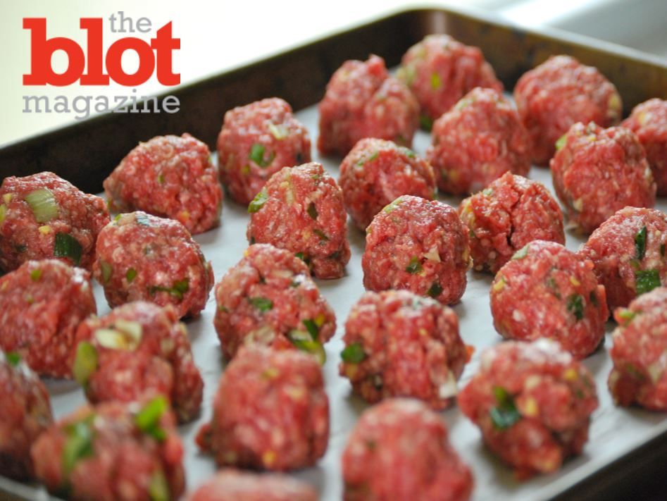 Don't Be a Meathead, Eat Wonderful Meatballs, Don't buy Pre-made