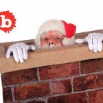 Not Santa, Scary Voice Was Naked Man Stuck in Chimney